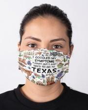TEXAS I GOOGLED MY SYMPTOMS Cloth face mask aos-face-mask-lifestyle-01