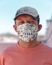 TEXAS I GOOGLED MY SYMPTOMS Cloth face mask aos-face-mask-lifestyle-06