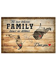 WEST VIRGINIA FLORIDA LOVE BETWEEN FAMILY 24x16 Poster front