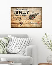 WEST VIRGINIA FLORIDA LOVE BETWEEN FAMILY 24x16 Poster poster-landscape-24x16-lifestyle-01