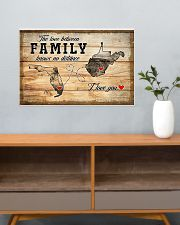 WEST VIRGINIA FLORIDA LOVE BETWEEN FAMILY 24x16 Poster poster-landscape-24x16-lifestyle-25