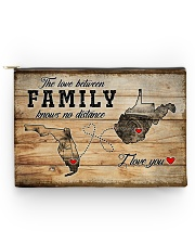 WEST VIRGINIA FLORIDA LOVE BETWEEN FAMILY Accessory Pouch - Large thumbnail