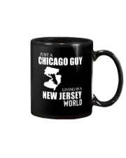 JUST A CHICAGO GUY LIVING IN JERSEY WORLD Mug thumbnail
