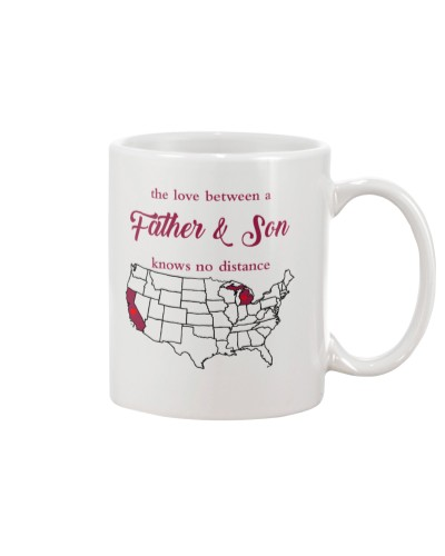 MICHIGAN CALIFORNIA THE LOVE FATHER AND SON
