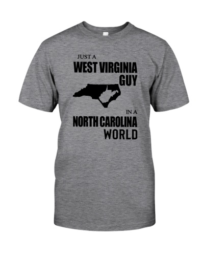 JUST A WEST VIRGINIA GUY IN A NORTH CAROLINA WORLD