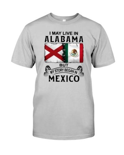 LIVE IN ALABAMA BEGAN IN MEXICO