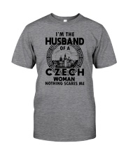 I'M THE HUSBAND OF A CZECH WOMAN Classic T-Shirt front