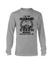 I'M THE HUSBAND OF A CZECH WOMAN Long Sleeve Tee thumbnail