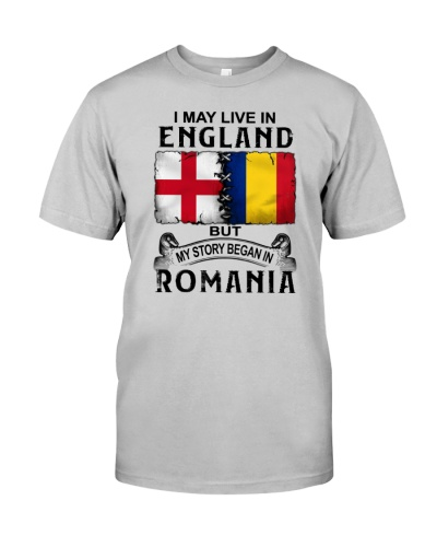 LIVE IN ENGLAND BEGAN IN ROMANIA