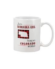 NEBRASKA GIRL LIVING IN COLORADO WORLD Mug thumbnail