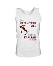 SOUTH AFRICAN GIRL LIVING IN ITALIAN WORLD Unisex Tank thumbnail