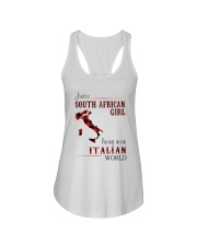 SOUTH AFRICAN GIRL LIVING IN ITALIAN WORLD Ladies Flowy Tank thumbnail