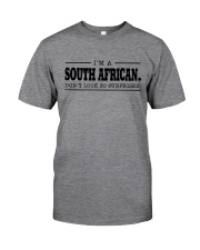 I'M SOUTH AFRICANDON'T SURPRISED Classic T-Shirt thumbnail