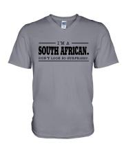 I'M SOUTH AFRICANDON'T SURPRISED V-Neck T-Shirt thumbnail