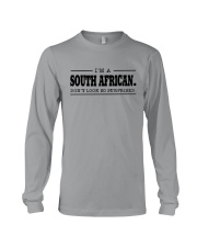 I'M SOUTH AFRICANDON'T SURPRISED Long Sleeve Tee thumbnail