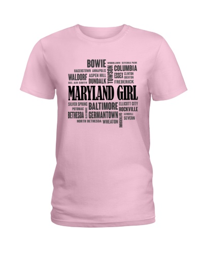 MARYLAND GIRL AND CITY