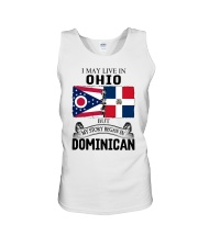 LIVE IN OHIO BEGAN IN DOMINICAN ROOT WOMEN Unisex Tank thumbnail