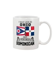 LIVE IN OHIO BEGAN IN DOMINICAN ROOT WOMEN Mug thumbnail