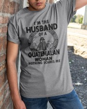 I'M THE HUSBAND OF A GUATEMALAN WOMAN Classic T-Shirt apparel-classic-tshirt-lifestyle-27