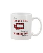KANSAS GIRL LIVING IN WASHINGTON WORLD Mug thumbnail