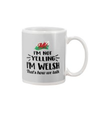 I'M NOT YELLING I'M WELSH Mug thumbnail