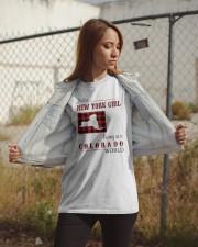 NEW YORK GIRL LIVING IN COLORADO WORLD Classic T-Shirt apparel-classic-tshirt-lifestyle-07