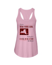 NEW YORK GIRL LIVING IN COLORADO WORLD Ladies Flowy Tank thumbnail