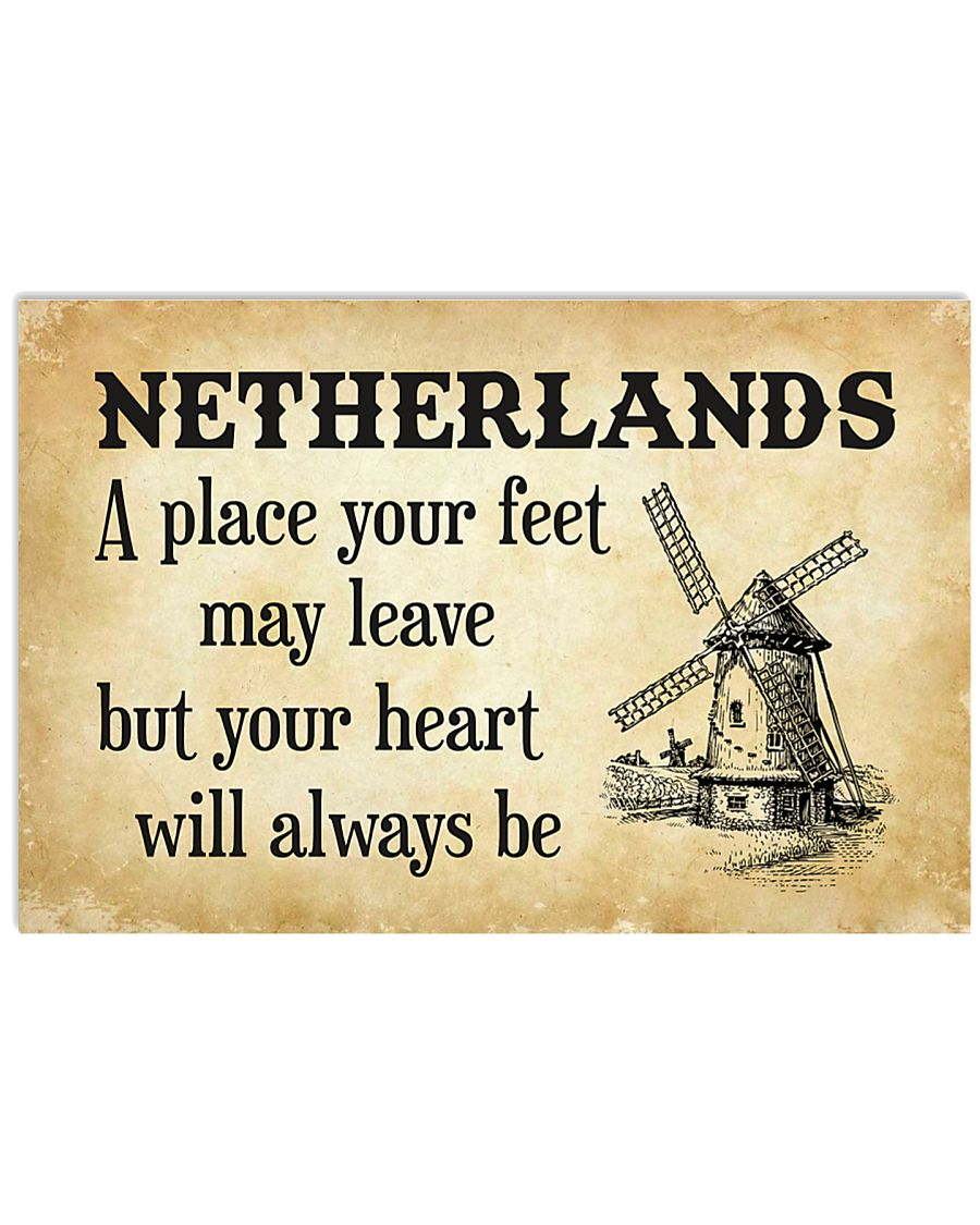 NETHERLANDS A PLACE YOUR HEART WILL ALWAYS BE 17x11 Poster