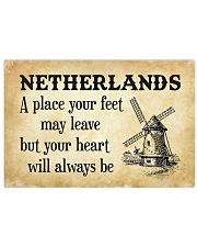 NETHERLANDS A PLACE YOUR HEART WILL ALWAYS BE 17x11 Poster front