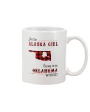 ALASKA GIRL LIVING IN OKLAHOMA WORLD Mug thumbnail