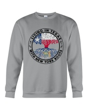 LIVING IN TEXAS WITH NEW YORK ROOTS Crewneck Sweatshirt thumbnail