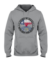 LIVING IN TEXAS WITH NEW YORK ROOTS Hooded Sweatshirt thumbnail
