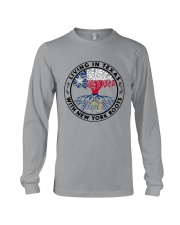 LIVING IN TEXAS WITH NEW YORK ROOTS Long Sleeve Tee thumbnail