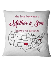 OKLAHOMA MARYLAND THE LOVE MOTHER AND SON  Square Pillowcase thumbnail