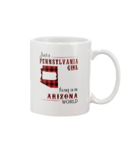 PENNSYLVANIA GIRL LIVING IN ARIZONA WORLD Mug thumbnail