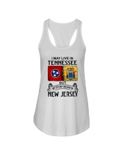 LIVE IN TENNESSEE BEGAN IN NEW JERSEY Ladies Flowy Tank thumbnail