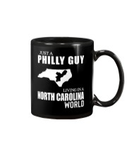 JUST A PHILLY GUY LIVING IN NC WORLD Mug thumbnail