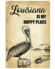 LOUISIANA IS MY HAPPY PLACE 11x17 Poster front