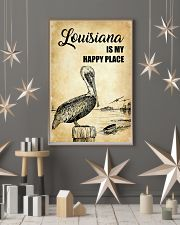 LOUISIANA IS MY HAPPY PLACE 11x17 Poster lifestyle-holiday-poster-1