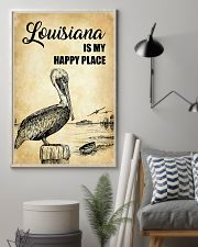 LOUISIANA IS MY HAPPY PLACE 11x17 Poster lifestyle-poster-1