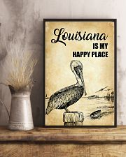 LOUISIANA IS MY HAPPY PLACE 11x17 Poster lifestyle-poster-3