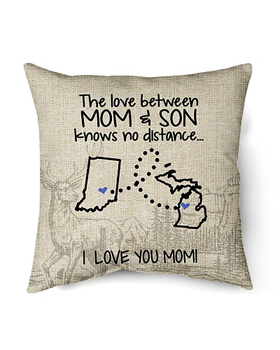 MICHIGAN INDIANA THE LOVE MOM AND SON