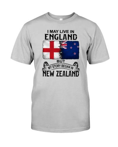 LIVE IN ENGLAND BEGAN IN NEW ZEALAND