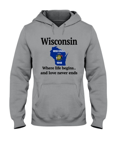 WISCONSIN WHERE LIFE BEGINS
