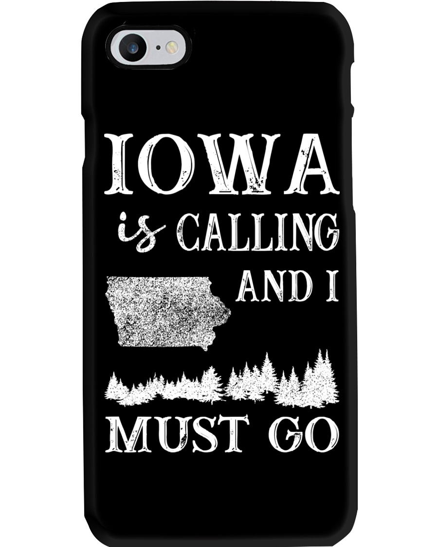 IOWA IS CALLING AND I MUST GO Phone Case