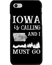 IOWA IS CALLING AND I MUST GO Phone Case i-phone-7-case