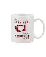OHIO GIRL LIVING IN WASHINGTON WORLD Mug thumbnail