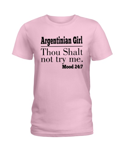 ARGENTINIAN GIRL THOU SHALT NOT TRY ME
