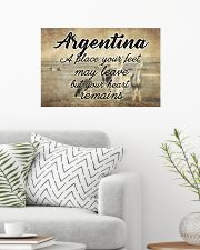 ARGENTINA A PLACE YOUR HEART REMAINS 24x16 Poster poster-landscape-24x16-lifestyle-01