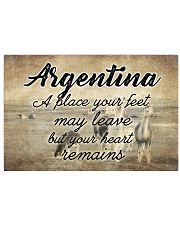 ARGENTINA A PLACE YOUR HEART REMAINS Horizontal Poster tile